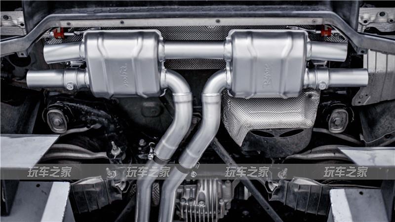 激发跑车运动气质 保时捷卡宴S排气升级改装案例
