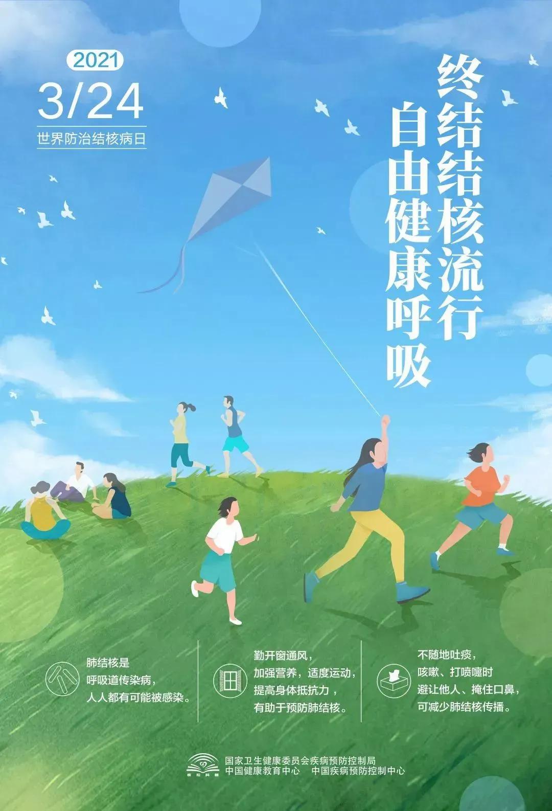 """江苏射阳海河中心卫生院宣传""""第26个世界防治结核病日""""活动"""