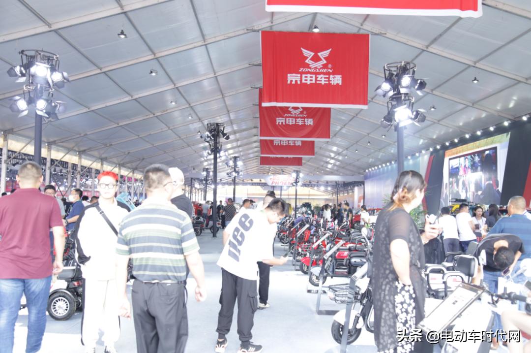 丰县展 | 宗申车辆强势参展,再次引领行业,成为耀眼焦点
