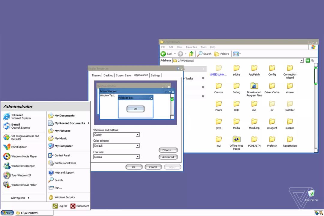 Windows XP源代码泄露,外媒从中发现隐藏Mac主题