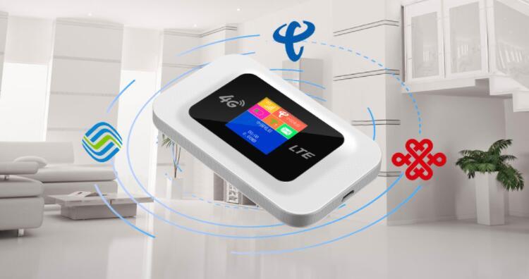 又省又快 免装宽带 翼联EDUP 4G随身wifi D623S嗨翻今夏