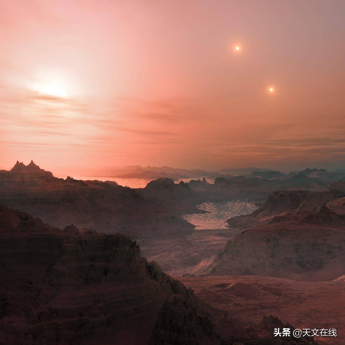 是什么让火星的日落不同于地球的日落?