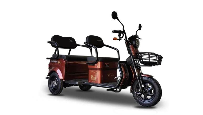 金彭、宗申发布新款休闲电动三轮车,空间大续航远,能坐3个人