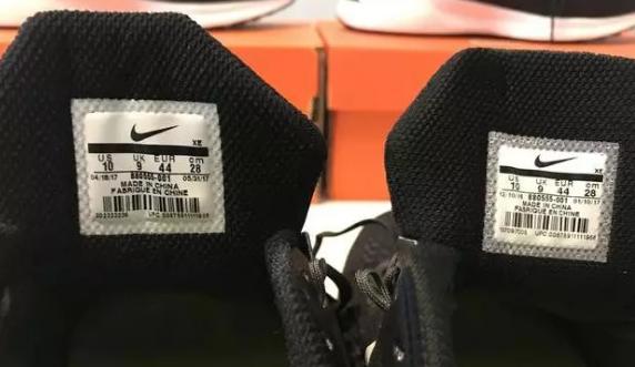 NIKE的登月V12莆田鞋和正品大对比,真标鞋的巅峰之作