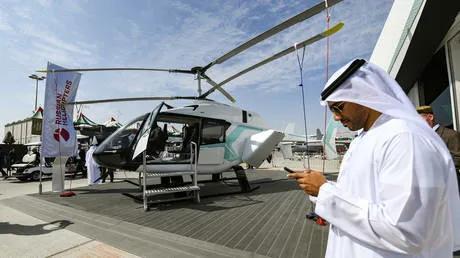 俄罗斯技术集团公司与阿联酋战略开发商合作生产新型轻型直升机