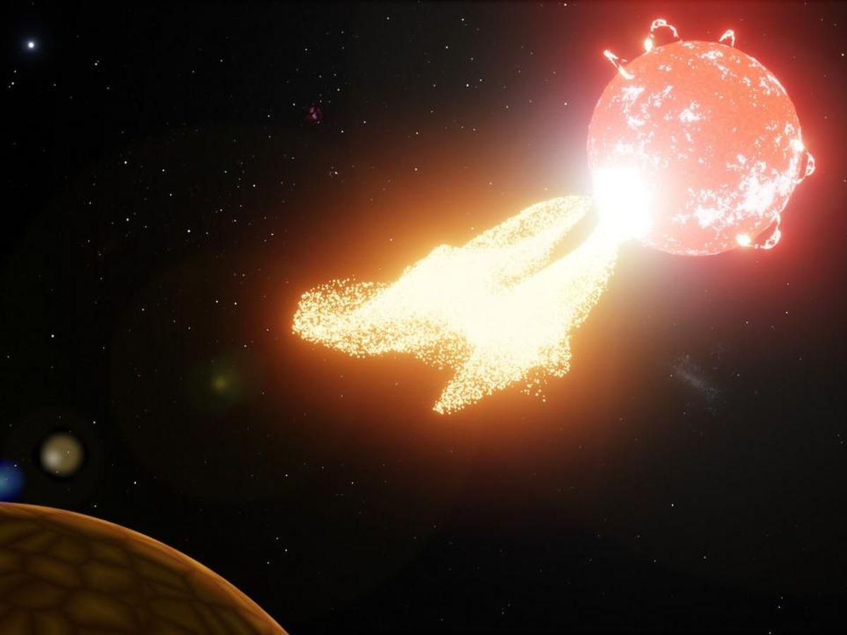 为何说恶劣的太空天气可能会限制附近系外行星的生命?