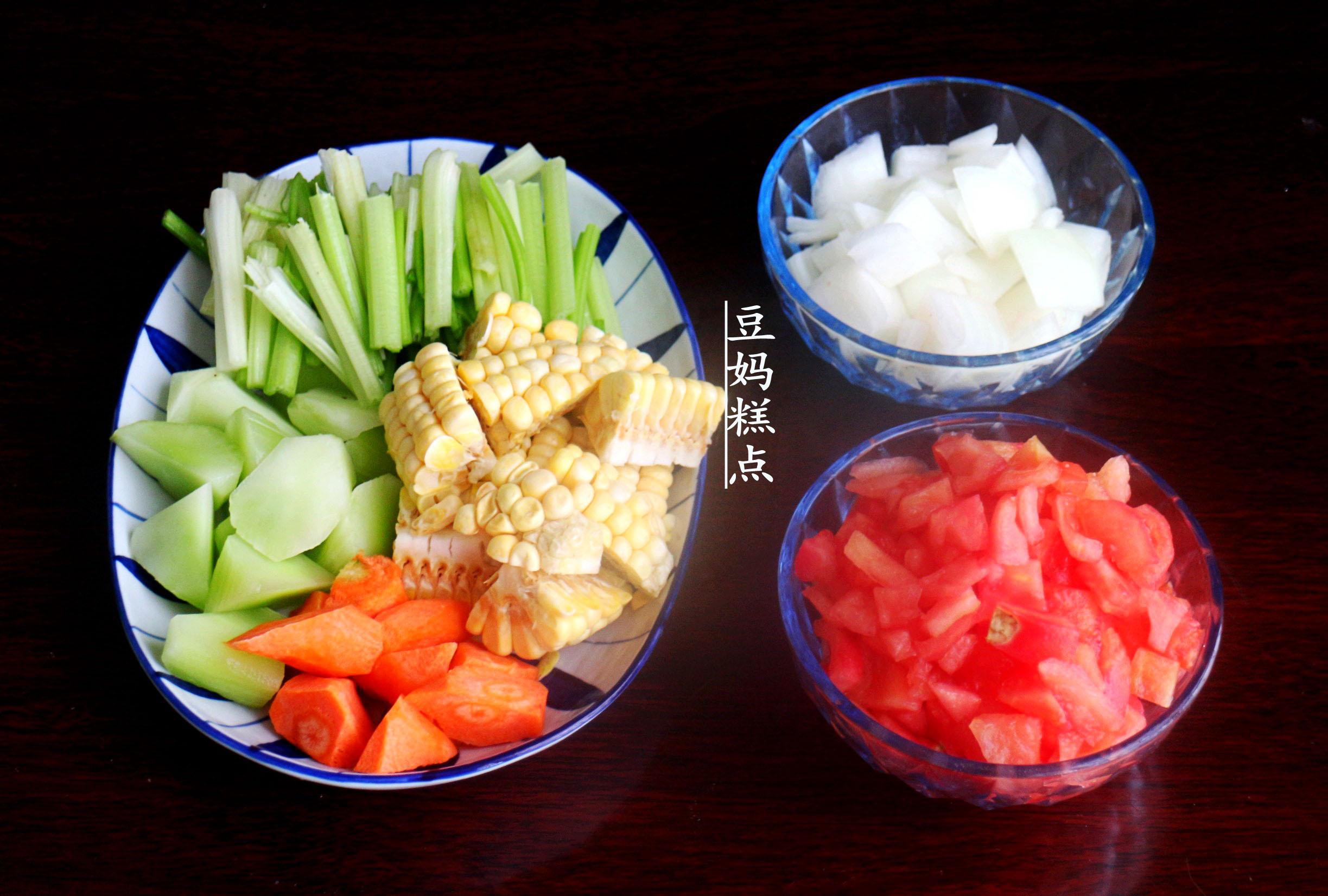 学做瘦身蔬菜汤,健康瘦身,营养不缺 减肥菜谱 第2张