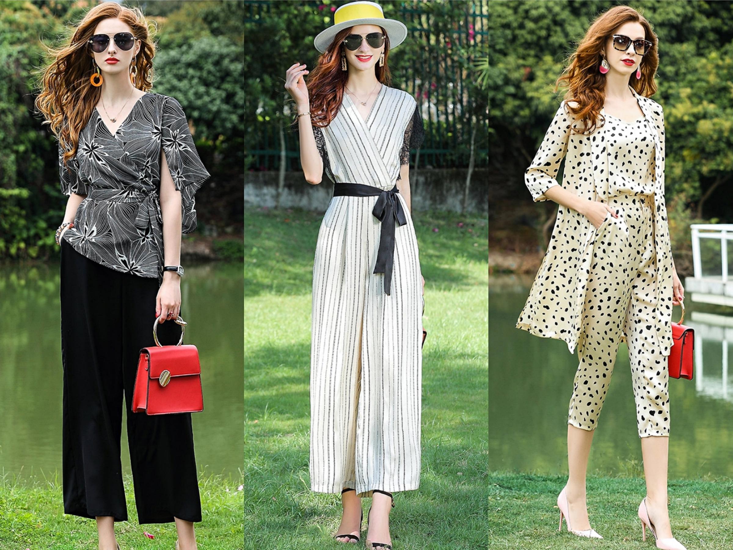 四十岁女人穿搭,舒适的夏日轻熟风,优雅有质感