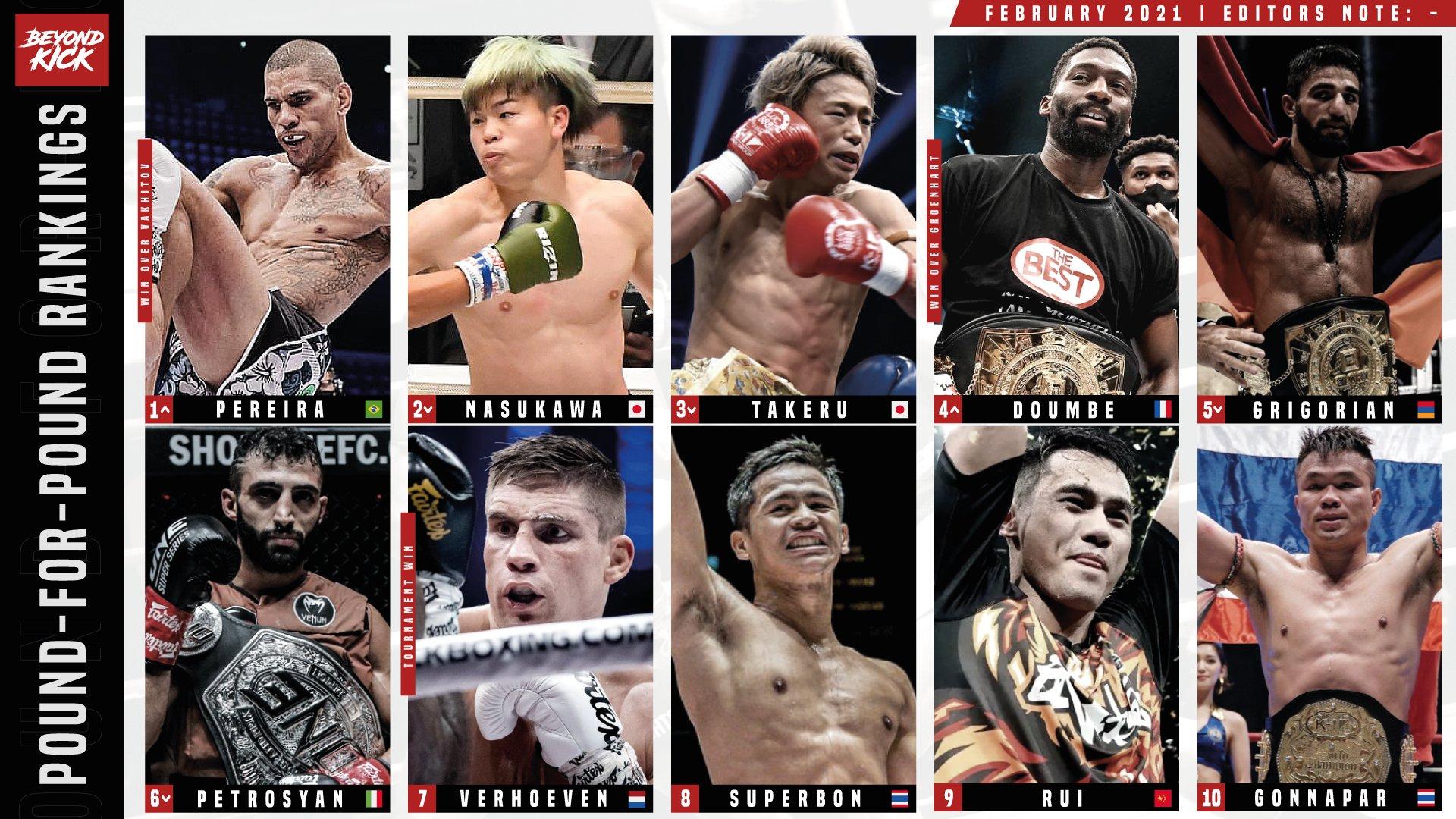 外媒评出世界十大自由搏击拳手:中国仅魏锐上榜,日本双星列二三