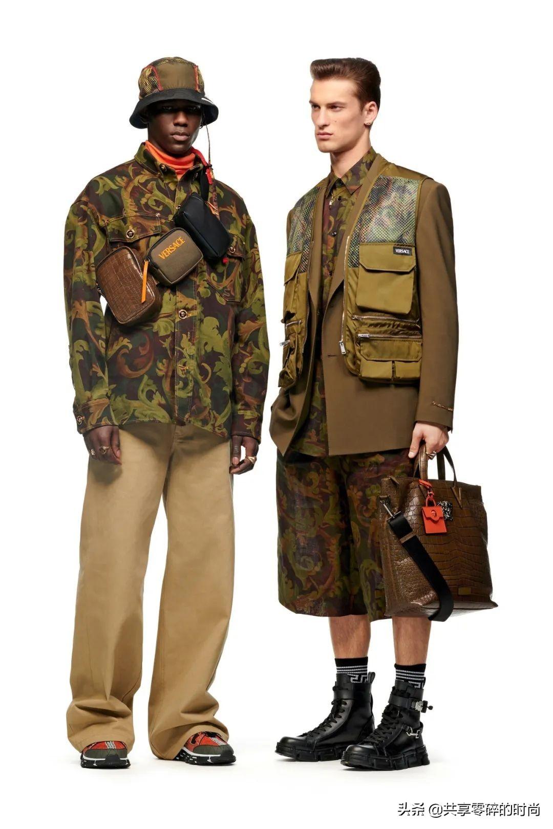 设计师品牌范思哲2021秋冬时装Versace越来越潮了
