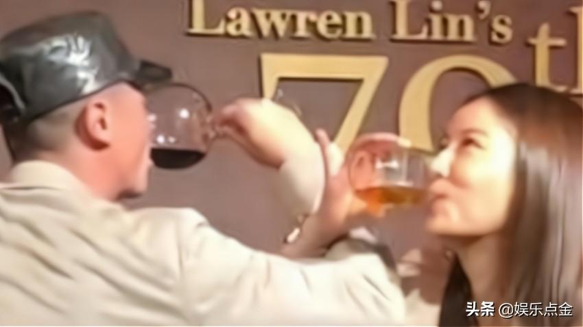 霍建华林心如喝交杯酒举止甜蜜,大秀恩爱力破婚变传闻