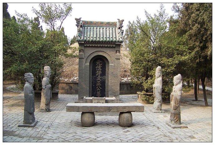 曾祥裕风水团队中原文明之旅考察元代重臣许衡墓随笔