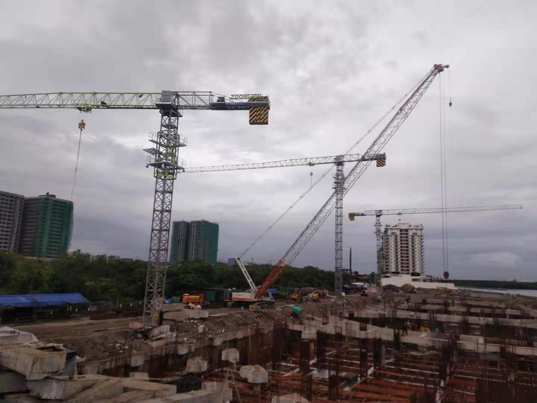 市占率大幅跃升!中联重科菲律宾市场塔机销售实现新突破