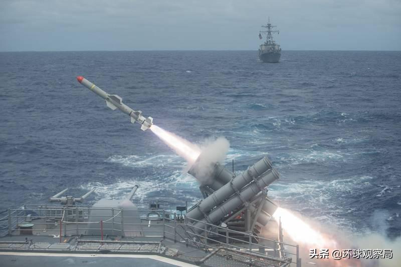 美国核潜艇重新装备了鱼叉反舰导弹,这实际上是中国海军强迫的