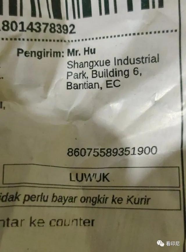 """""""胡先生""""引起印尼电商行业争议"""