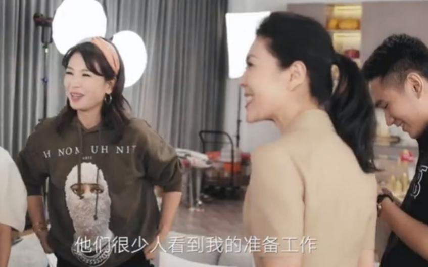 刘涛称靠意志力活着!带团队熬夜到凌晨5点,被赞为明星直播头牌