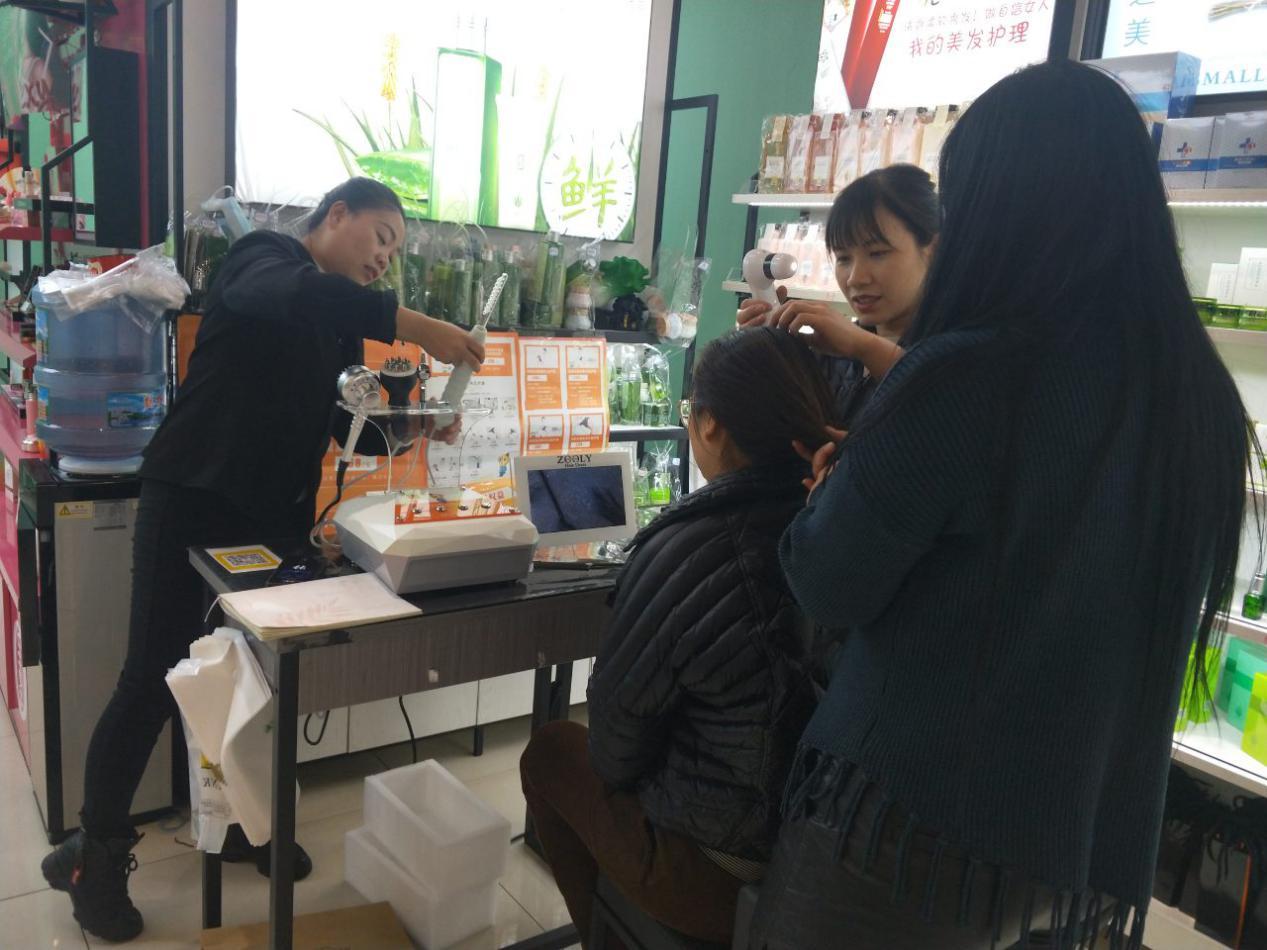 卓蓝雅养发馆项目,如何撬动洗护新格局