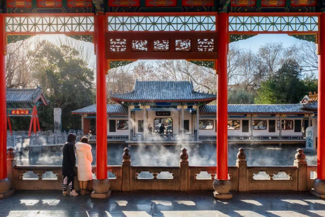 央视都来打卡了!这些听过却未曾见过的罕见美景惊艳了济南的冬天!