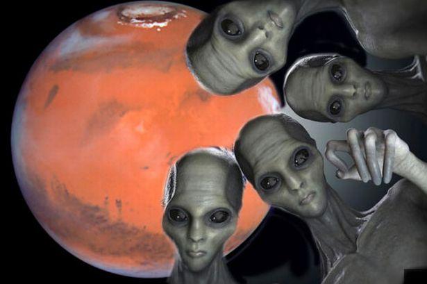 以色列前太空官员:外星人已秘密来到地球,正和美国合建火星基地