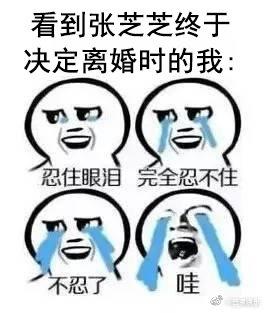 张芝芝终于离婚
