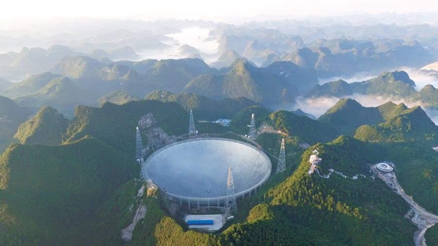 贵州平塘天坑群:中国最大的天坑群之一,世界最大望远镜坐落于此