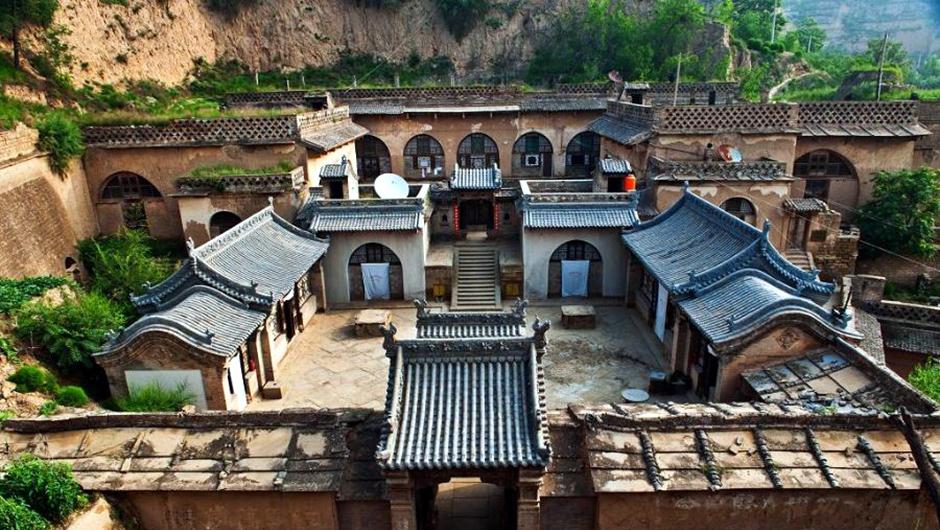 """陕西最体面的""""窑洞"""",被选为国家级文物,用地40亩修了13年"""