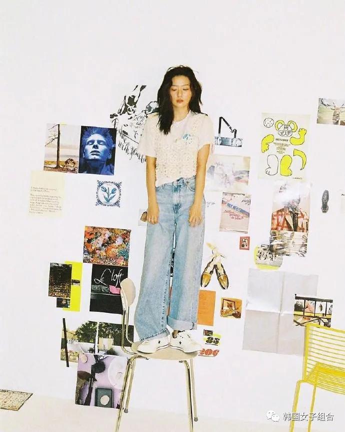 匡威韩国的第一位女性代言人,感受下这位女团爱豆的专属魅力
