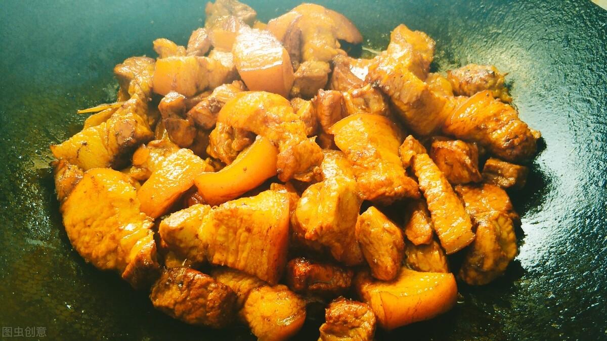 夏天,我家就爱这炖菜,好吃过瘾很下饭,荤素搭配营养高,真香 美食做法 第6张