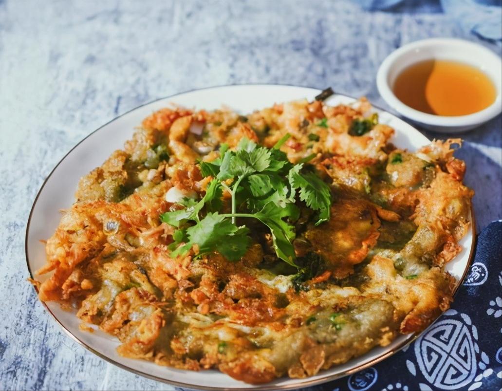 潮汕传统小吃—蚝烙教程 美食做法 第1张