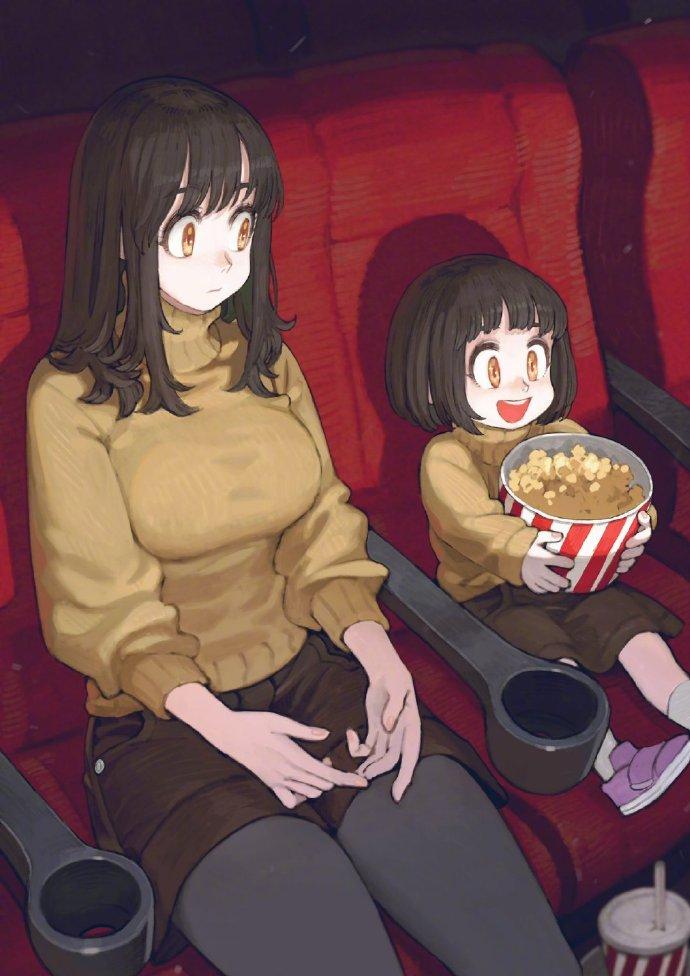 吃貨小姐姐和妹妹的美食日常,家裡有個這麼能吃的姐姐不好過啊