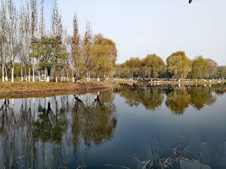 冬游天玑湖,欣赏不一样的景色