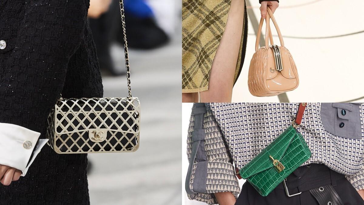 Chanel、LV、Hermès...新包款报到,准备剁手