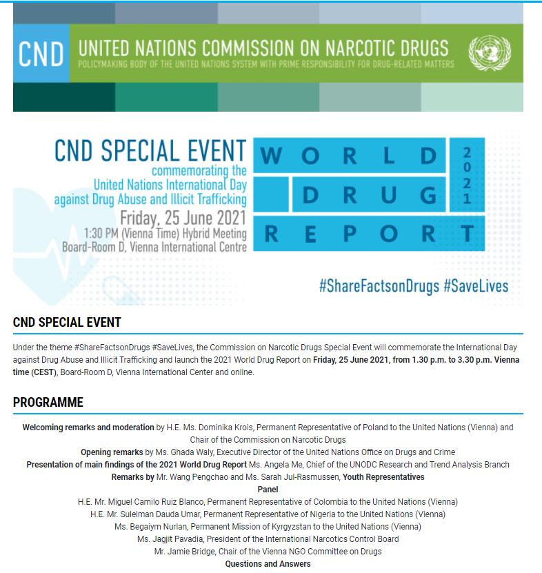 全球两位青年代表之一,温肯学子亮相联合国,为中国禁毒发声