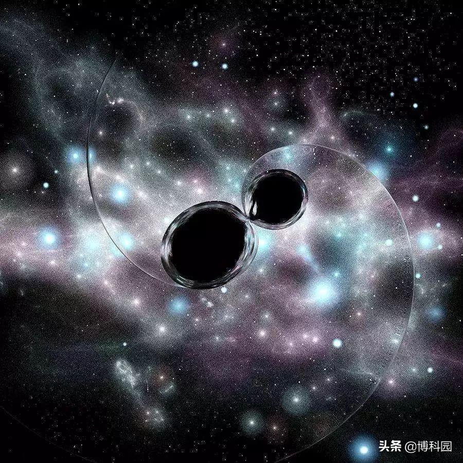 首次听见黑洞的响声!并再一次证明:爱因斯坦广义相对论是对的
