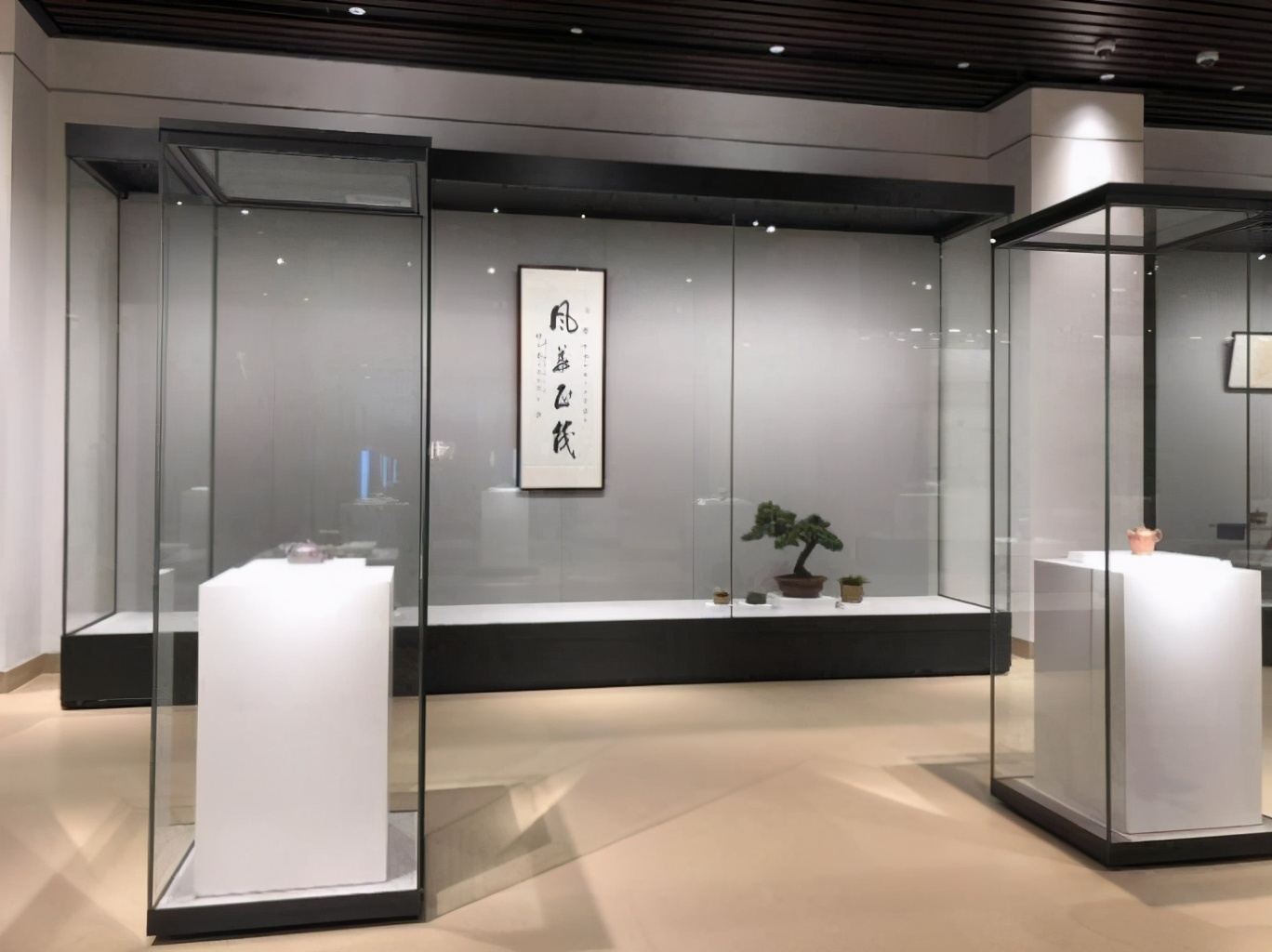 博物馆展柜内的几个设计重点