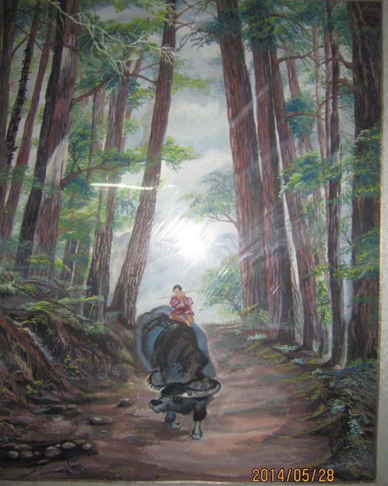 """色彩斑斓牵引梦幻――感受天阳创作的""""无墨心象中国画"""""""