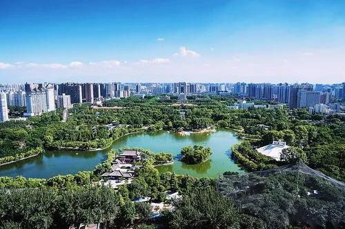贝塔智能用科技焕新西安兴庆宫公园
