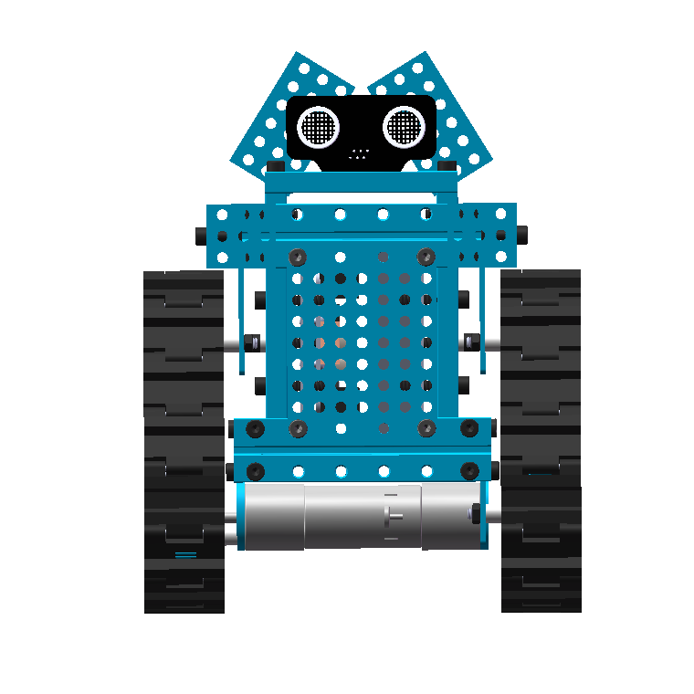 Robot Wall三角履带玩具机器人3D图纸 STEP格式