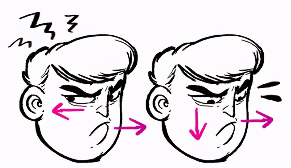 漫画生气表情怎么画?教你漫画人物生气表情的画法教程