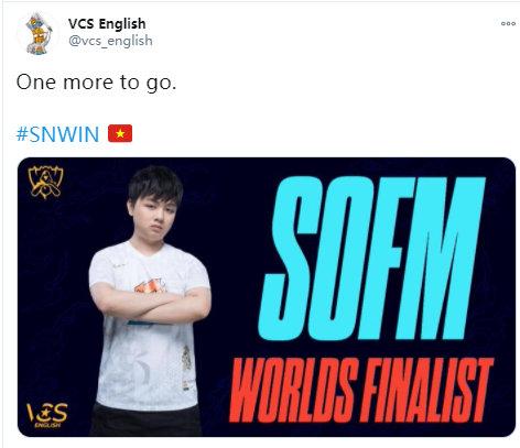 SN碾压TES,外网解说成Sofm舔狗,进决赛越南观众沸腾