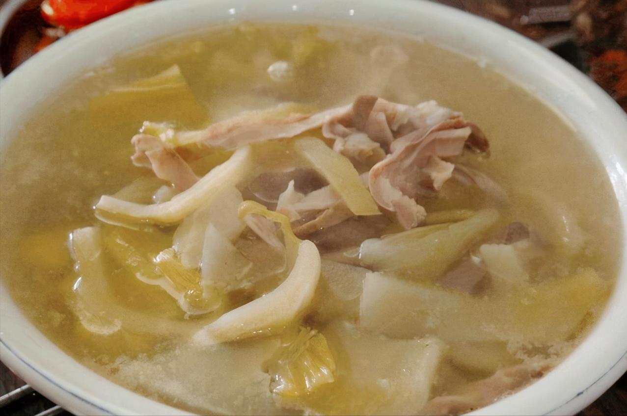 潮汕咸菜猪肚汤,今天你喝汤了吗? 美食做法 第5张