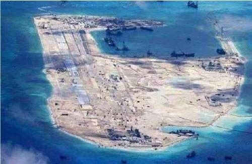挖沙填岛不是谁都能干的!中国用独家秘笈 越南一场台风全白干