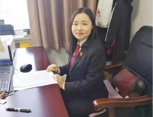 公主岭市人民法院立案庭庭长甘丽丽同志事迹