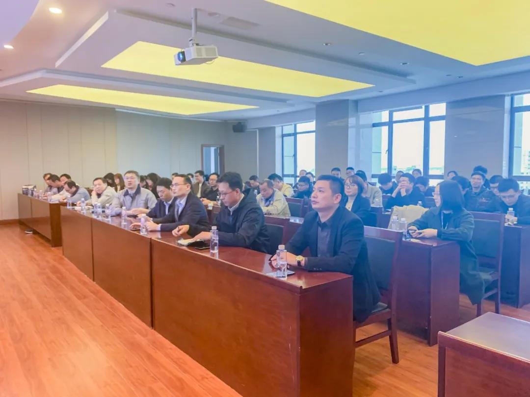 化纤板块销售部召开2021年启动大会