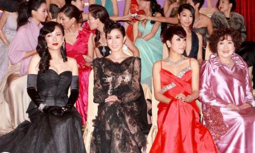那些年,TVB颁奖礼场场都是神仙打架,哪像如今