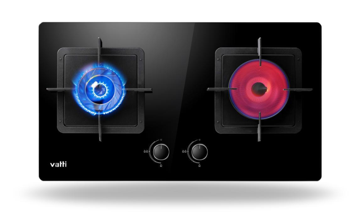 华帝燃气灶BZ8403B:两种炉头设计,颜值与美味一同up