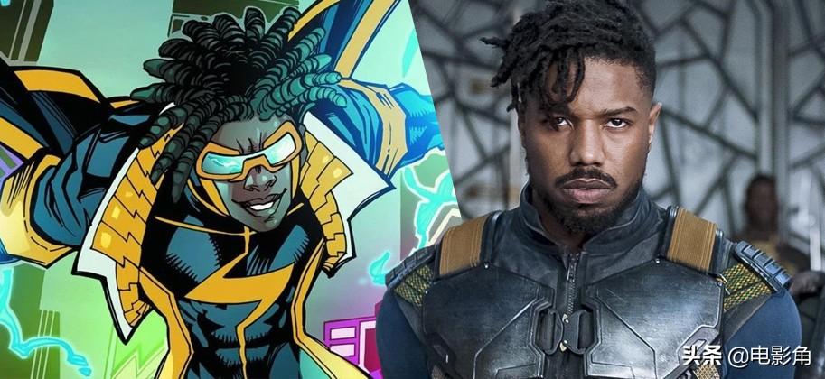 不演黑超人!迈克尔·B·乔丹将制作新DC电影《静电侠》