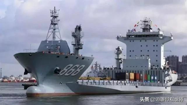 张召忠:中国海军有一艘奇怪的船,哪是船头哪是船尾根本分不清