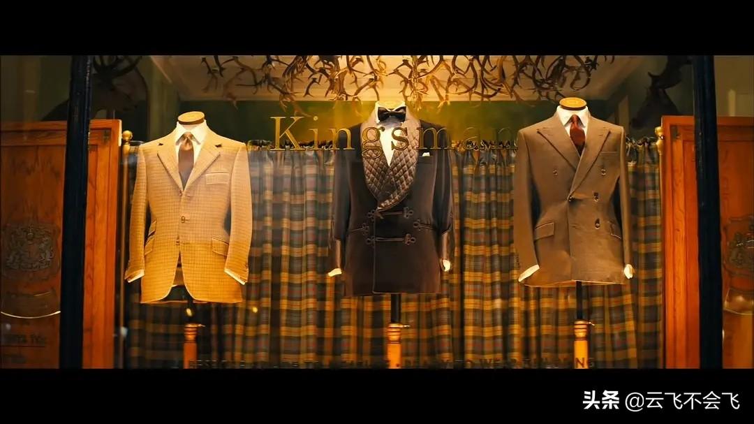 为什么意大利西装穿不出《王牌特工》中英伦西装的硬朗?