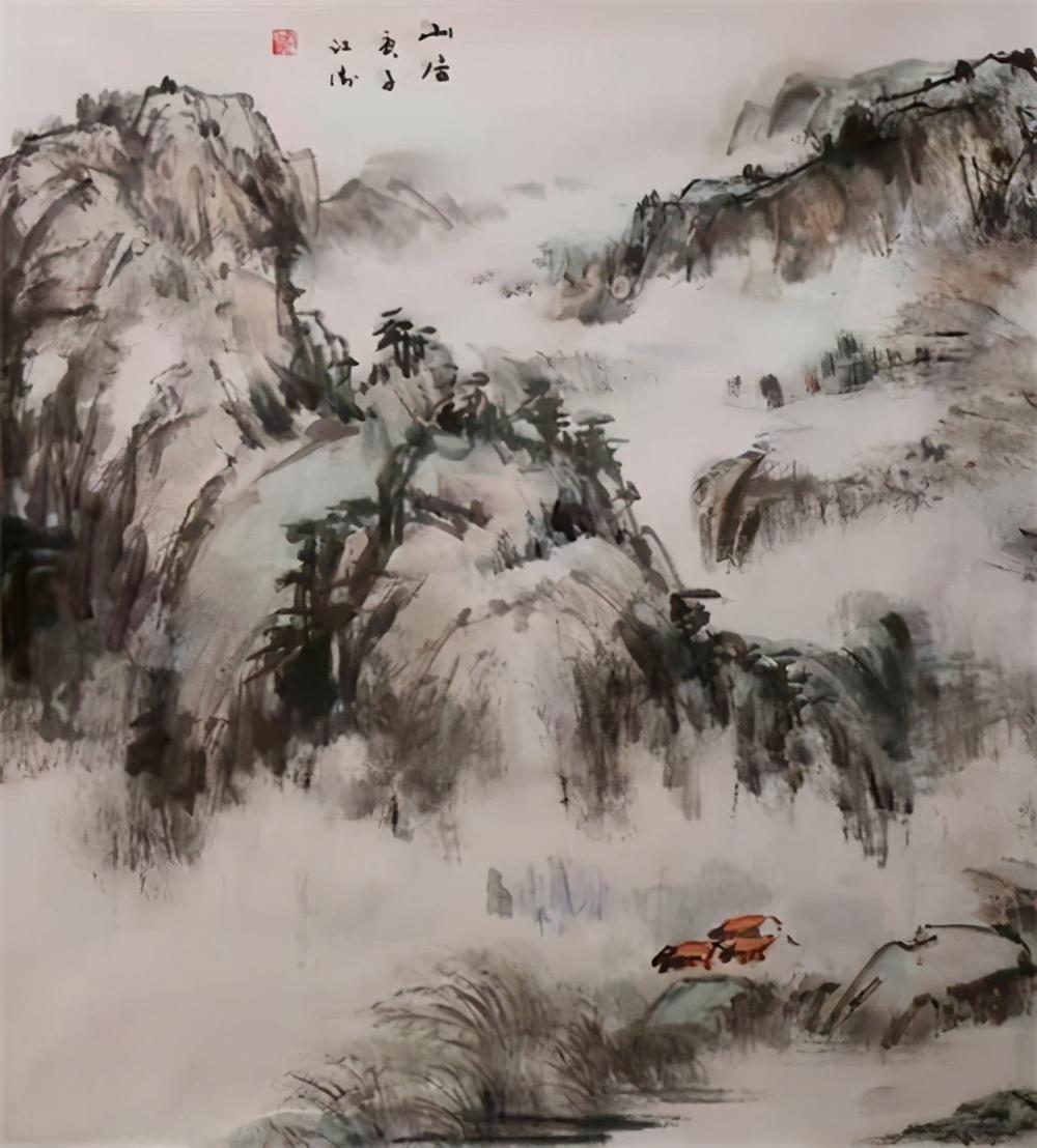 好画传诗情 妙诗现画境——段江涛诗画作品欣赏